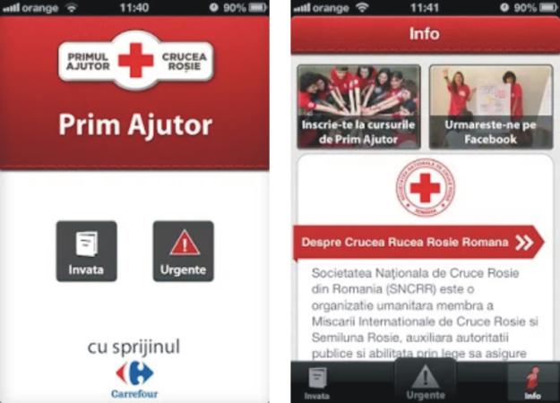 Aplicatia Prim Ajutor te ajuta sa fii intotdeauna pregatit in situatia unei urgente medicale!