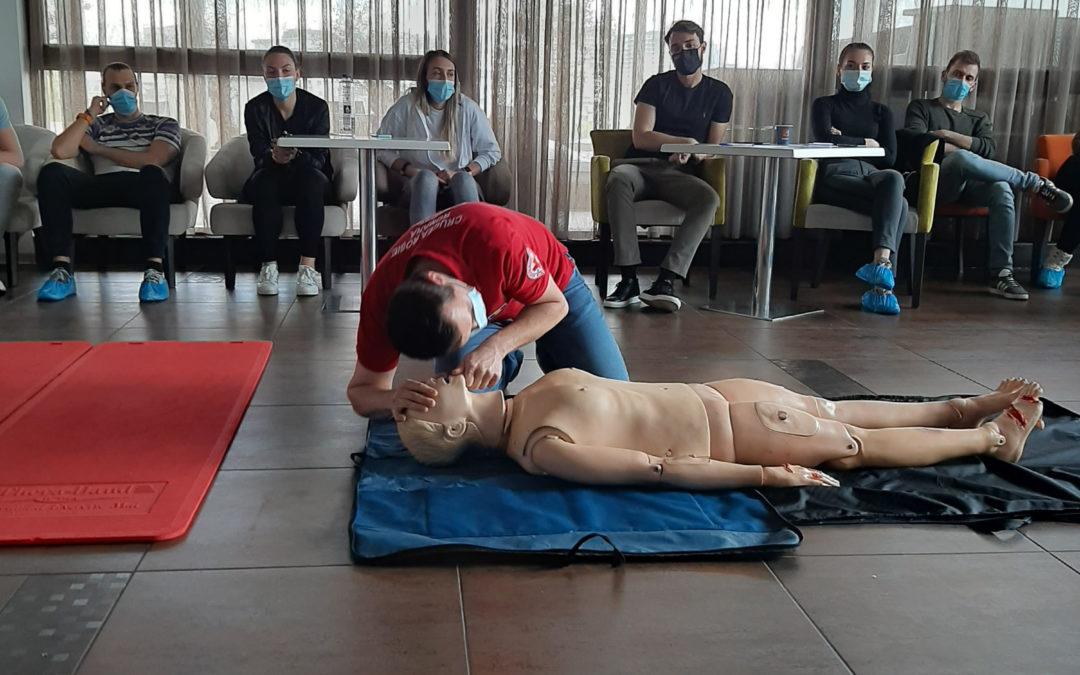 În luna august, un nou modul de inițiere în prim ajutor medical de bază