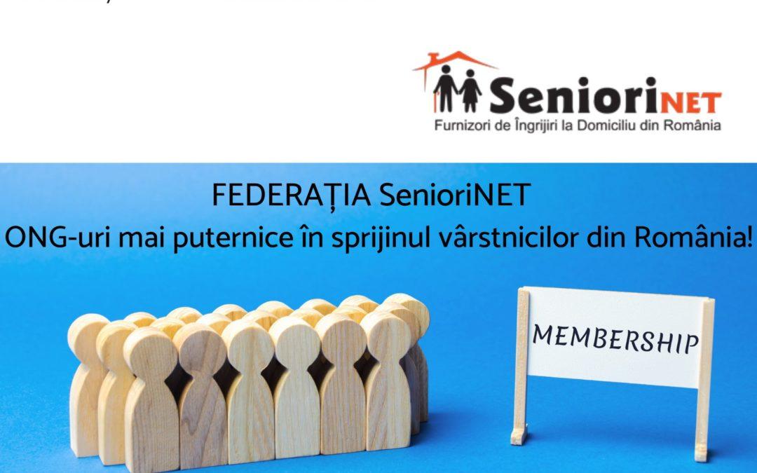 Prima întâlnire cu membrii Rețelei SenioriNET
