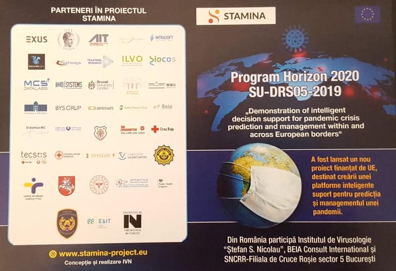 Proiectul STAMINA a fost promovat în cadrul rețelei teritoriale Crucea Roșie