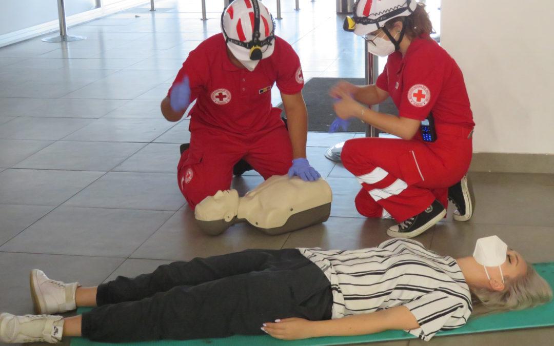 Următorul modul de inițiere în prim ajutor medical: 10-11 septembrie 2021